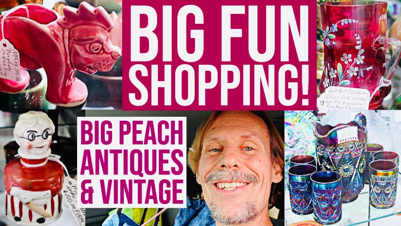 RESELLER SHOPPING FUN | ANTIQUE & VINTAGE MALL | AUCTION PREVIEW