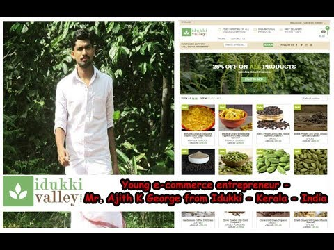 Young E-Commerce Entrepreneur from Kerala
