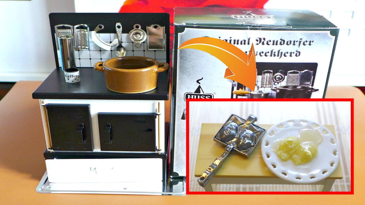 Unboxing Miniature Huss Multipurpose Stove & Cooking Mini Taiyaki