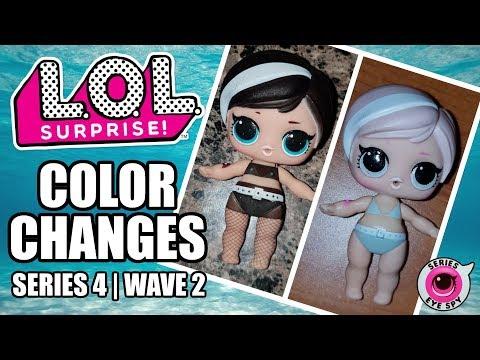 LOL Surprise Series 4 Under Wraps Wave 2 Color Change Dolls | All L.O.L. Wave 2 Color Changers