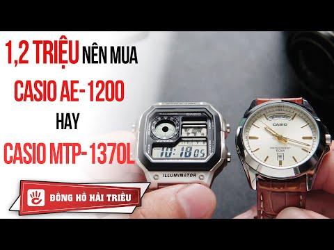 Casio Review #11 | 1,2 Triệu Nên Mua đồng Hồ Casio AE-1200WHD Hay Casio MTP
