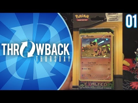 INTO THE VAULT! Black And White Pokemon TCG 3 Pack Blister Opening! | Throwback Thursday #1