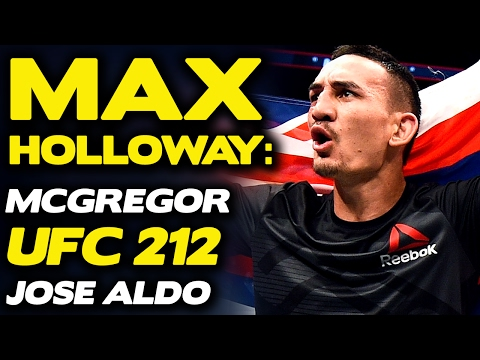"""Max Holloway to McGregor: """"You Don't Have The Title Anymore, Move On""""   UFC 212"""