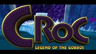 Classic PS1 Game Croc Legend of the Gobbos on PS3 in HD 1080p
