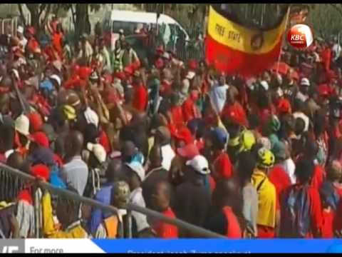 Drama unfolds during South Africa Labour Day celebrations