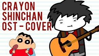 Kartun 90an - Crayon Shinchan Acoustic Cover (Japan Version)
