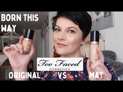 TEST FOND DE TEINT BORN THIS WAY MATTE VS ORIGINAL TOO FACED /Lequel est le meilleur ? #TOOFACED