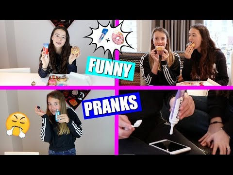 FUNNY PRANKS! | GRAPPIGE DIY PRANKS DEEL 2!
