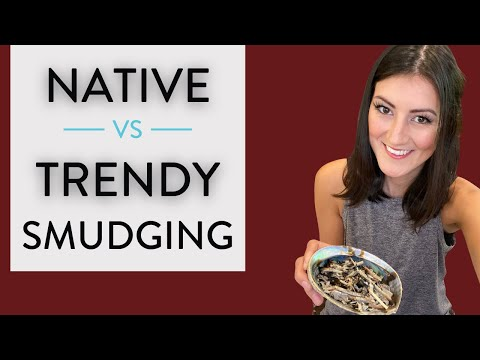 Native Smudging Vs Trendy - Indigenous Smudging With Sage 🔥(What's The Difference?)