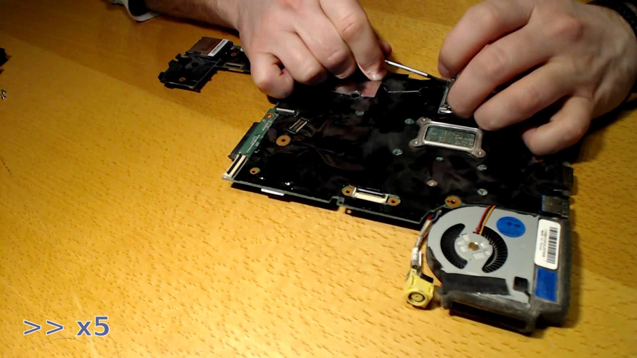 Lenovo x230 fan replacement