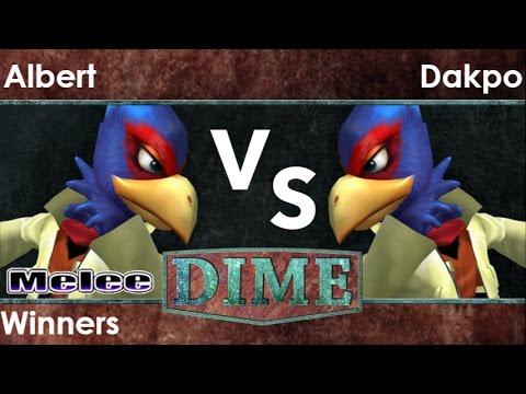 DIME 21 - FX   Albert (Falco) vs FX   Dakpo (Falco) Winners - Melee