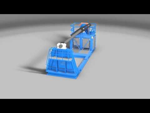ACE 200 Tonne SWL Diesel Hydraulic Spooling Winch