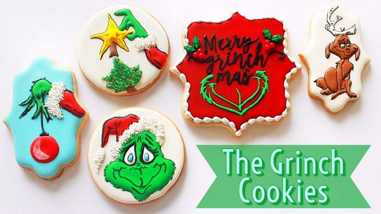 How To Decorate Grinch Cookies