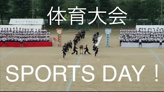 Sports Day at a Japanese School! 中学校の体育大会!