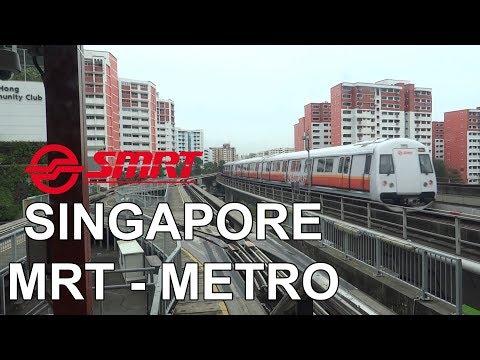 Singapore MRT - Singapore Metro - 新加坡地鐵 - சிங்கப்பூர் MRT - Singapura MRT (2018)