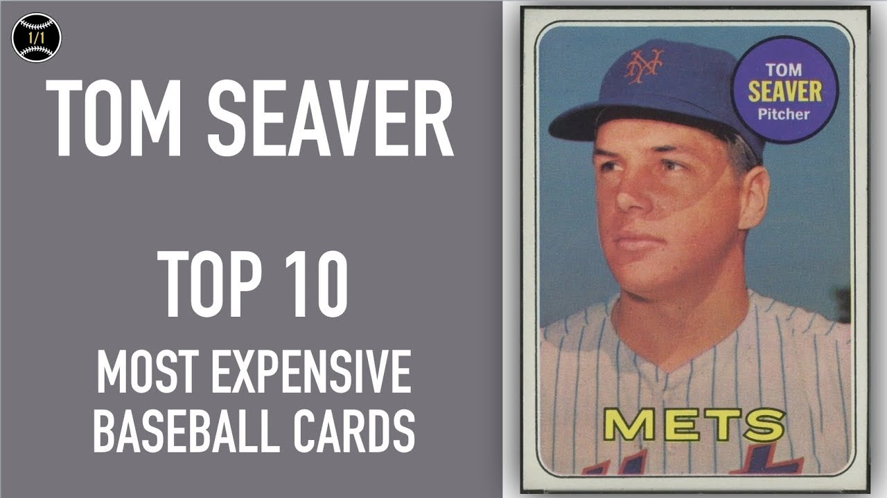 Tom Seaver Top 10 Most Expensive Baseball Cards Sold On Ebay January March 2019