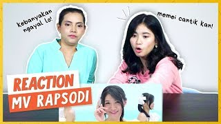 Gambar cover MEMEI NGAKU NGAKU JADI SHANI! JKT48 'RAPSODI' MV REACTION