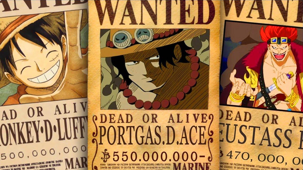 One Piece Kopfgelder