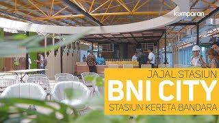 Jajal Stasiun BNI City, Stasiunnya Kereta Bandara
