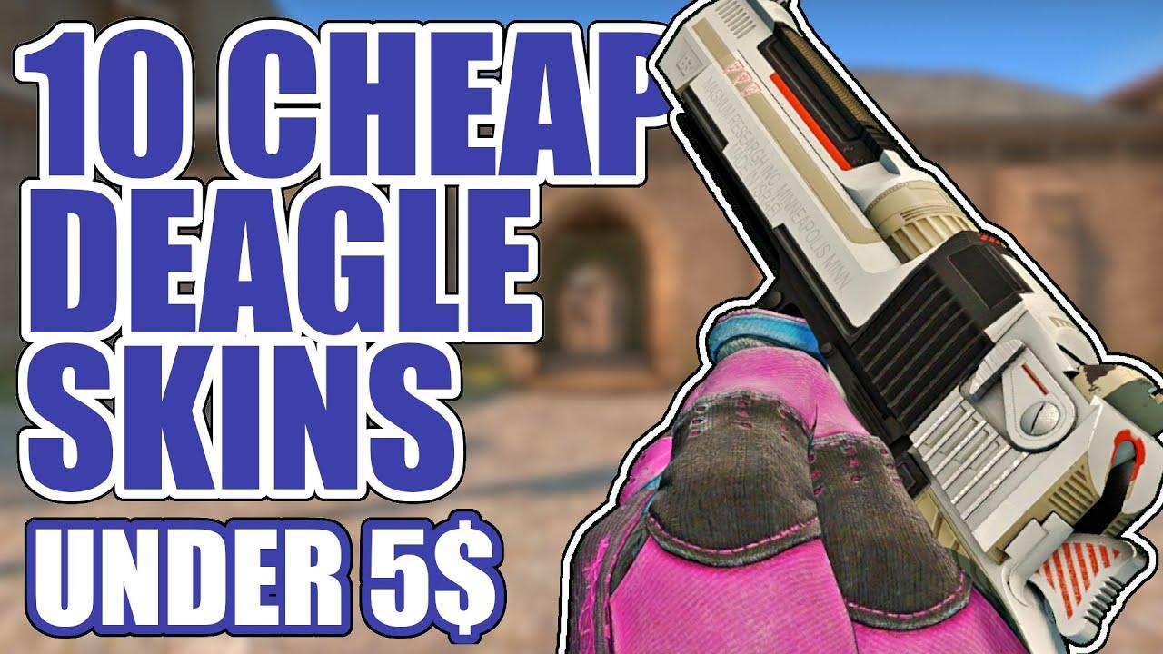10 Cheap Deagle Skins Under 5 Cs Go Showcase Youtube