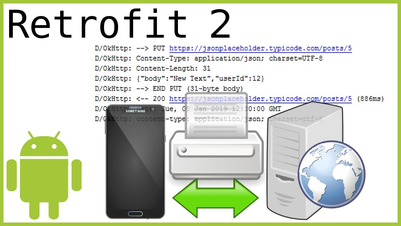 Retrofit Tutorial Part 5 - LOG HTTP REQUEST & RESPONSE WITH LOGGING  INTERCEPTOR - Android Tutorial