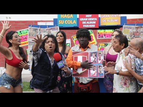 El señor Mama es el distribuidor oficial del álbum Pan-Nini del Mundial