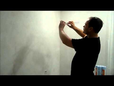 как подрезать внутрение углы потолочного плинтуса