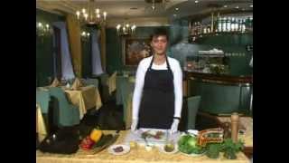Видео рецепт приготавления блюда Карпаччо из говядины