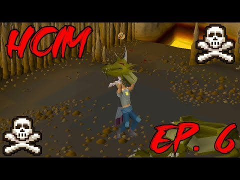 OSRS HCIM Ep  6   The Road to RFD Begins - YouTube