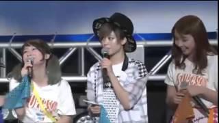 東京アイドルフェスティバル2015 PASSPO☆ × 風男塾 のコラボ トーク...