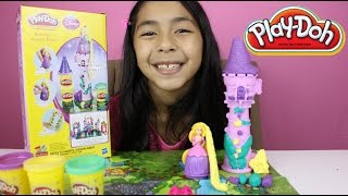 Tuesday Play-Doh  Rapunzel