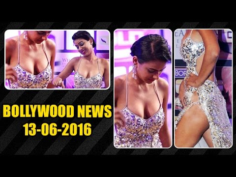 Nia Sharma EXPOSES Her Deep CLEAVAGE In Public | 13th June 2016 thumbnail