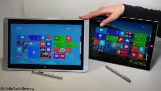 HP Envy x2 13t vs. Microsoft Surface Pro 3 Comparison Smackdown