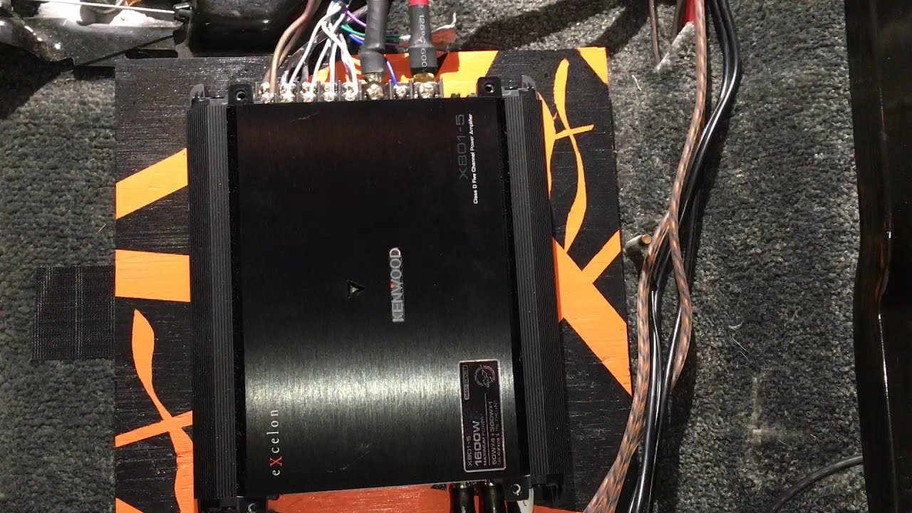 small resolution of amplifier install chevy tahoe gmc yukon