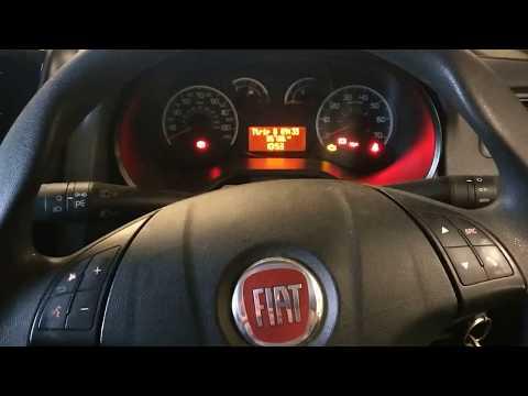 Fiat Doblo Van Oil Light Flashing Reset
