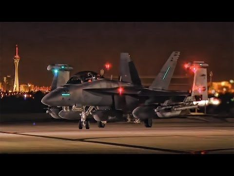 Nightlife In Nevada - Nellis AFB