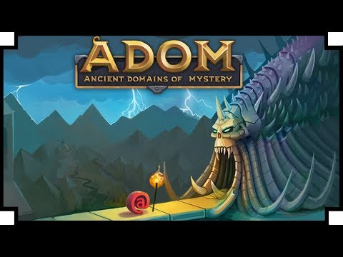 ADOM: Ancient Domains of Mystery - (Classic Roguelike Game)