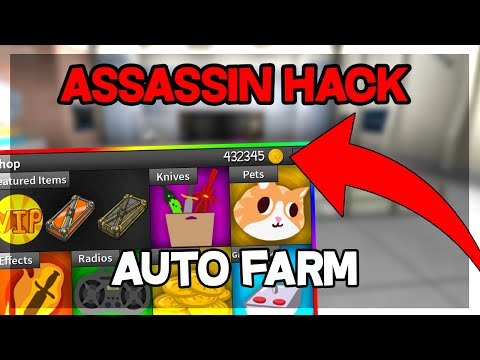 Assassin Roblox Unlimited Coins Hack New Assassin Hack Infinity Coins Auto Farm Aimbot Silent Aim Kill All More Working Youtube