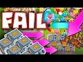 Bloons TD Battles :: FARM FAIL HARD! 50,000 MEDALLIONS ON THE LINE :: BTD BATTLES