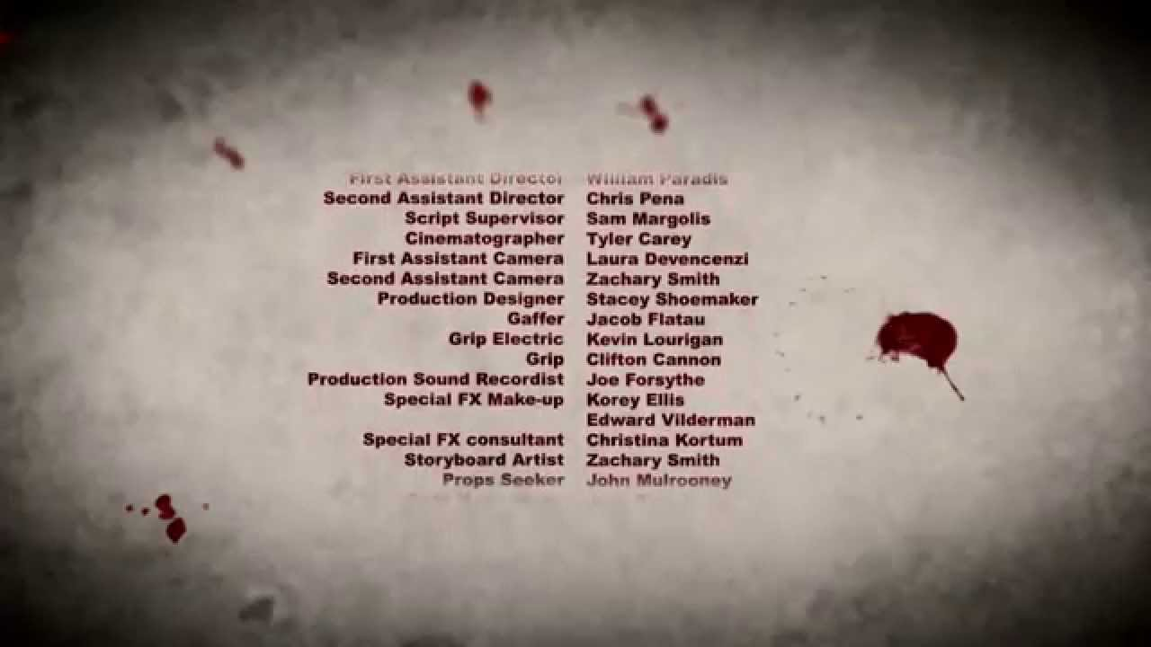 horror end credit sequence template pin youtube