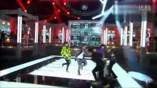 杨晃美翻了 Super Junior联手中国美女fx宋茜最新特别舞台