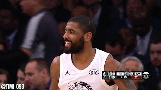 Kyrie Irving All-Star Game 2018 Highlights (13 pts, 7 reb, 9 ast)