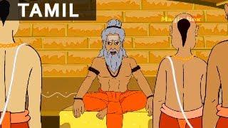 Foolish Disciple - Jataka Tales In Tamil - Animation / Cartoon Stories For Kids
