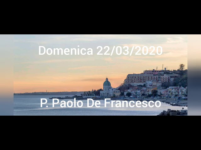 IL DIO DELLA SPERANZA – DOMENICA IN LAETARE - 22/03/2020