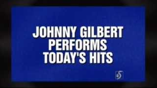 Jeopardy! - Johnny Gilbert Performs Today's Hits (Feb. 21, 2014) Video