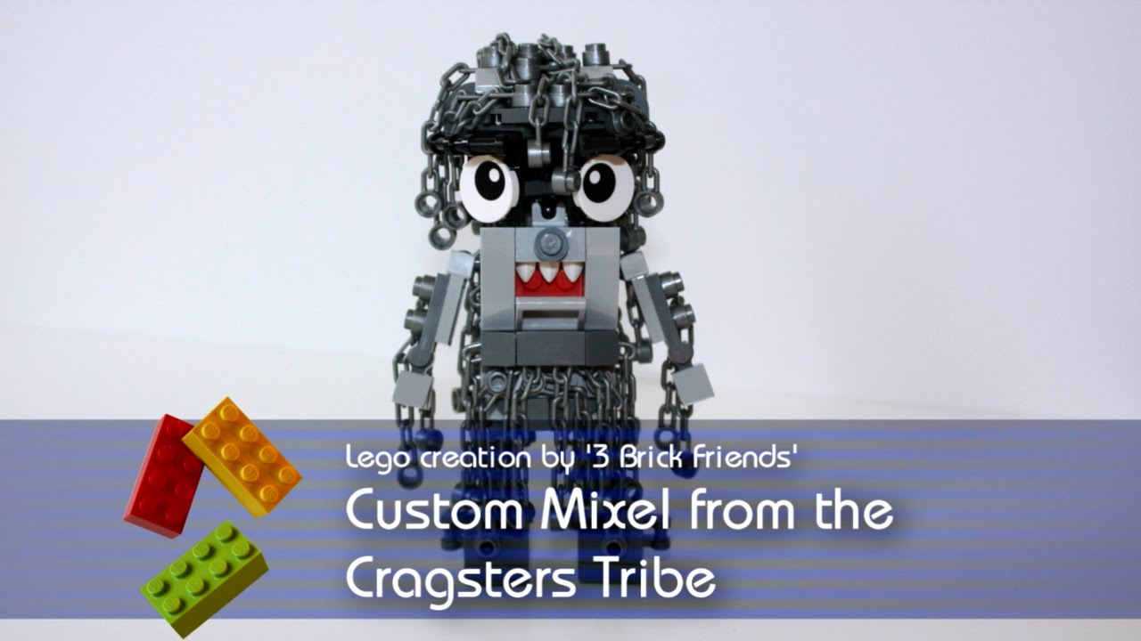 Lego Mixels - Custom Lego Mixel from Cragsters Tribe - YouTube
