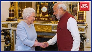 Prime Minister Modi Meets Queen Elizabeth; 'Bharat Ki Baat' To Begin Shortly | Live Update