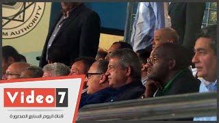 وزير الرياضة والخطيب وشحاتة أبو ريدة يؤازرون منتخب الشباب أمام رواندا