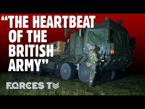 How The British Army Delivers Bullets To The Frontline • ROYAL LOGISTIC CORPS | Forces TV