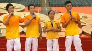 [奧運金牌精英大匯演]体操队登台合唱尽显兄弟情